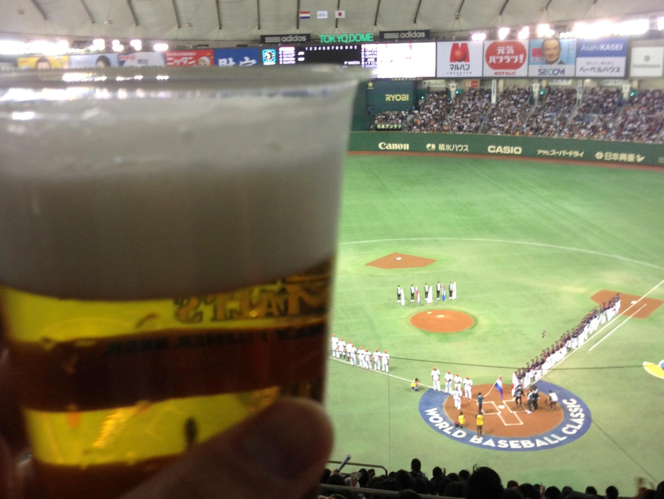 ビールが旨い!
