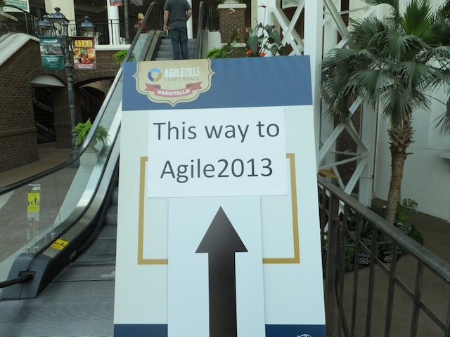 Agile2013_This Way To Agile2013