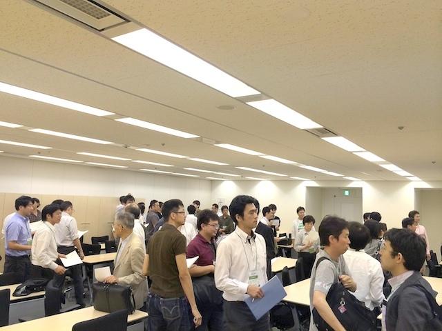 ワークショップのようす(Agile Japan 2014 IPAセッションD-3)