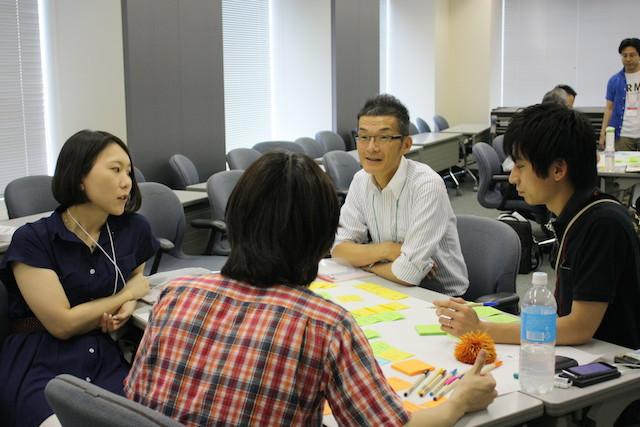ワークショップのようす(Agile Japan 2014 ワークショップE-1)