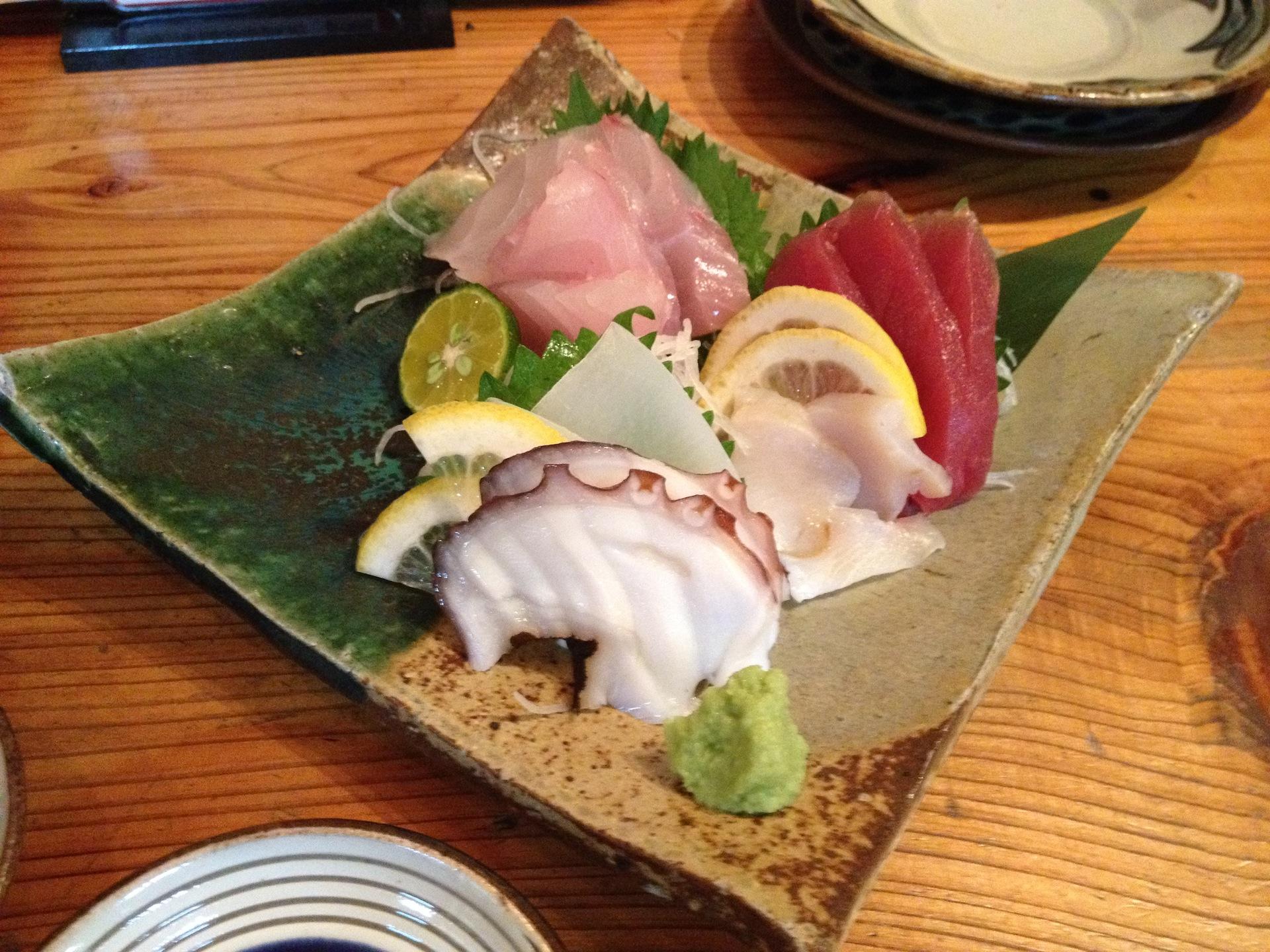 沖縄鮮魚のお刺身