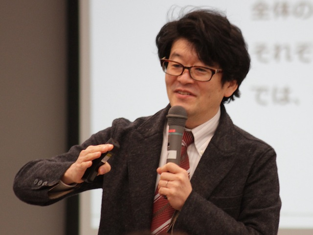 AgileJapan2012での岸良さん