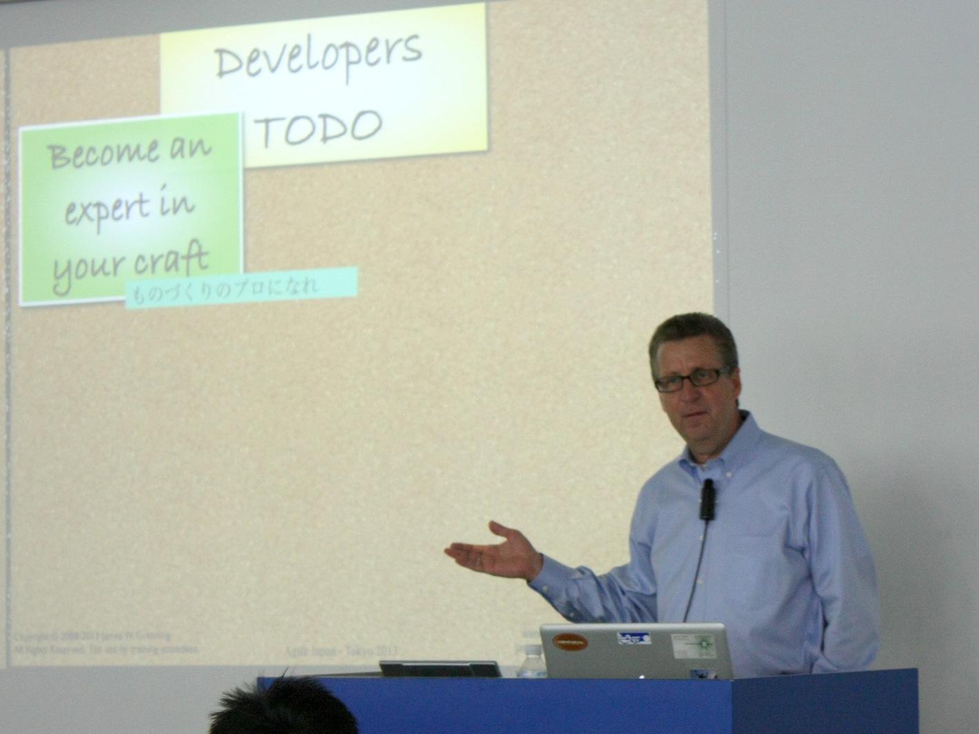 agilejapan_James Grenning氏keynote3