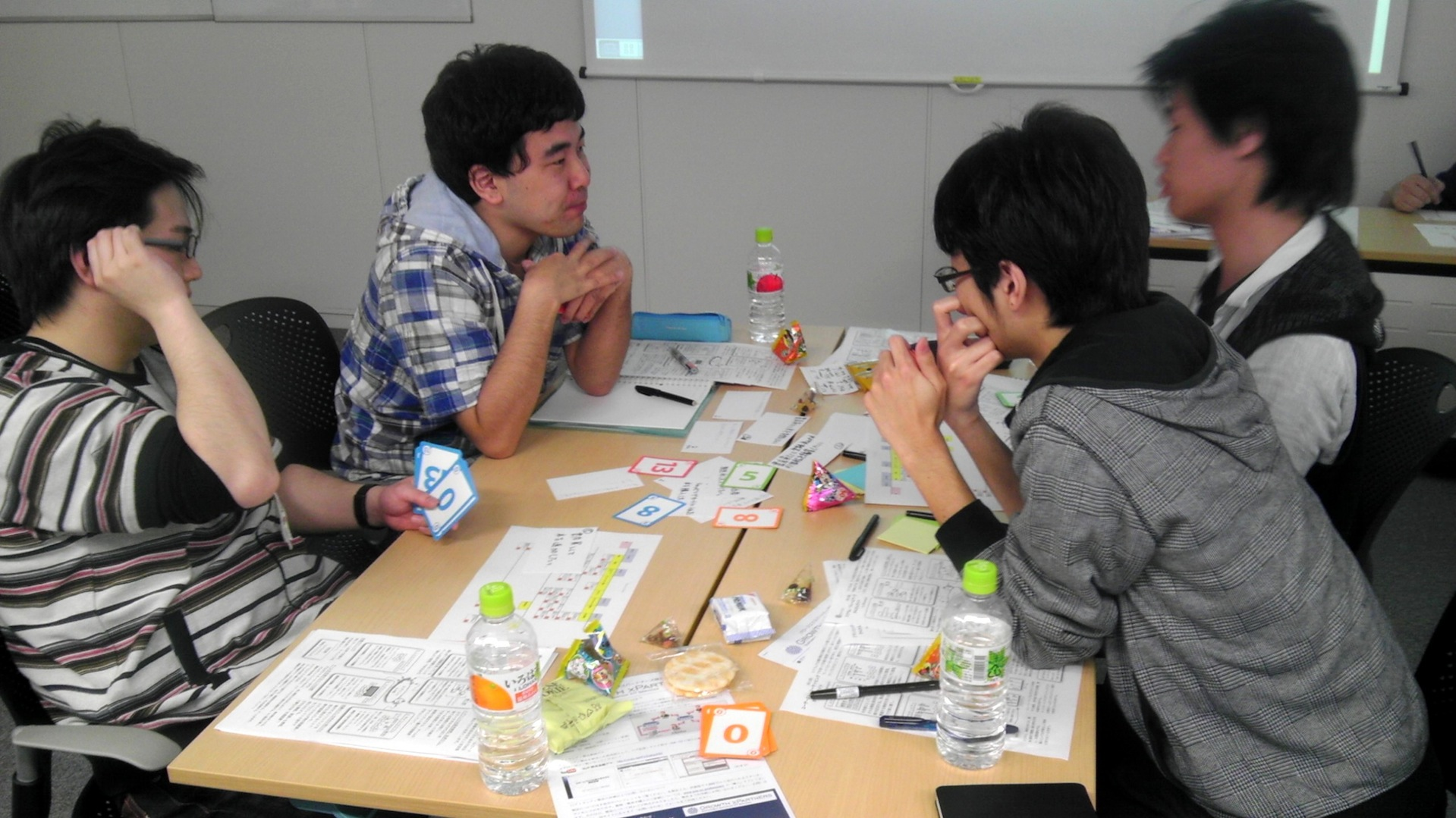 agilejapan仙台_ストーリーを見積もるワーク中3