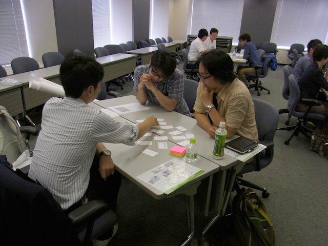 ワークショップのようす(Agile Japan 2014 ワークショップE-3)